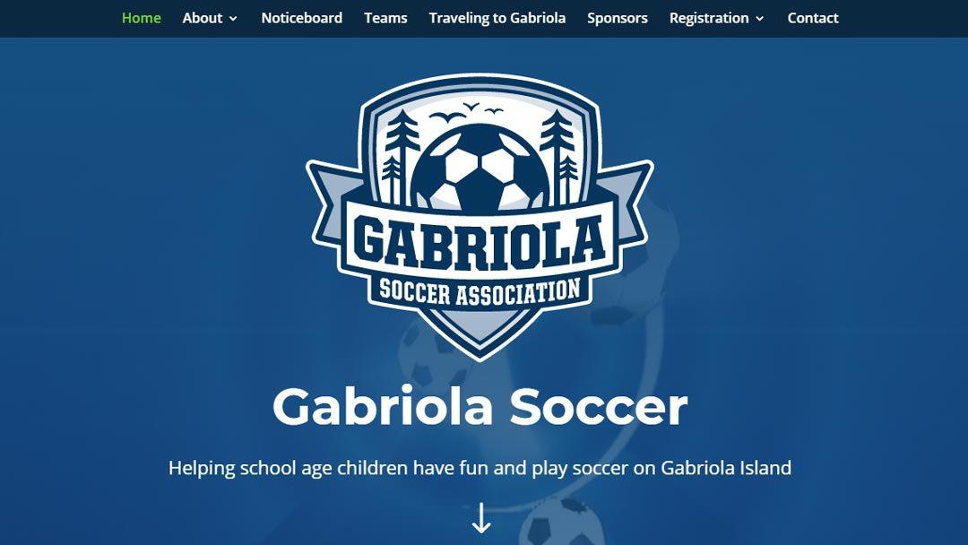 Gabriola Soccer Association Launches New Website!