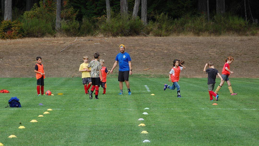 Summer Soccer Camps on Gabriola